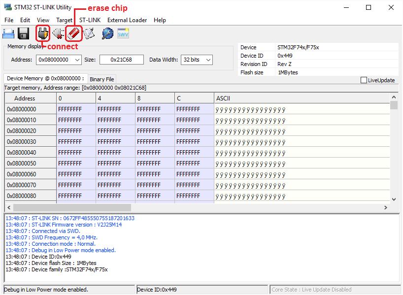 S2C on STM32F7 Discovery – Setup assembly | bdSupport - bdSound