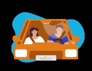 Beamforming in car